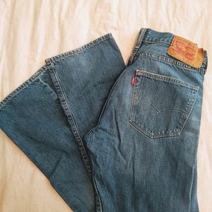 Levi 501 button fly jeans